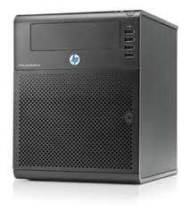 HP N36L microserver AMD dual core Athlon CPU 1.3GHz, 4GB RAM 1x1TB SATA HDD